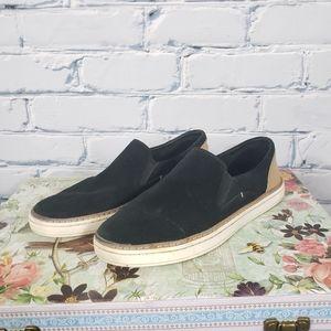 Ugg Black Adley Perf Slip On Shoes